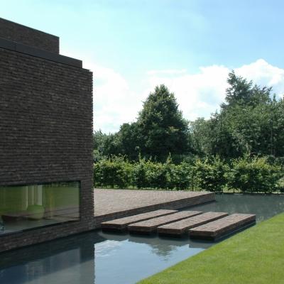 Cover afbeelding voor de tuin te Sint Lievens Houtem