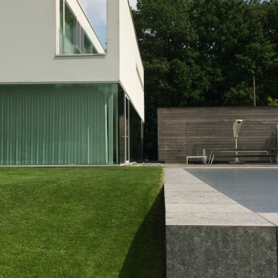 Cover afbeelding voor de tuin te Hasselt