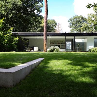 Cover afbeelding voor de tuin te Vlaams Brabant